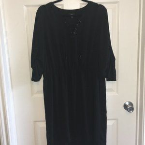 Mossimo Black High Low Dress